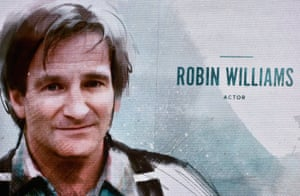 Robin Williams remembered during the 2015 Oscars In Memoriam tribute.