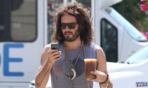 russell brand iced coffee