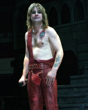 Ozzy performing in New York in 1982.