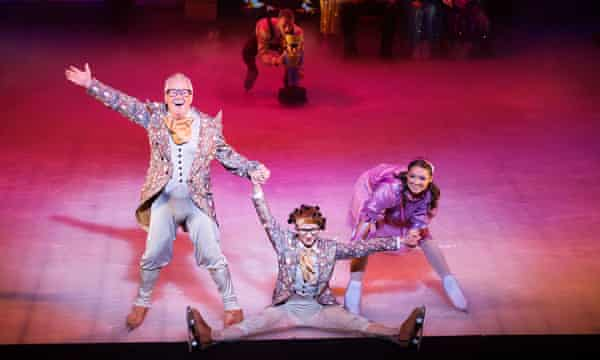 Keith Chegwin (left) in The Nutcracker On Ice, 2013.