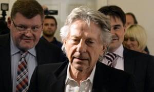 Roman Polanski at the regional court in Kraków on October 30, 2015.