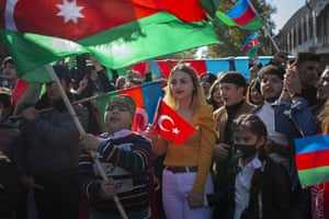 Azerbaijanis celebrate National Flag Day and Shushaâs liberation from occupation