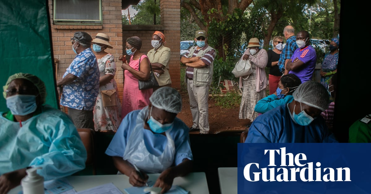 'Think of others': elderly people in Zimbabwe dispel scepticism on Covid vaccine
