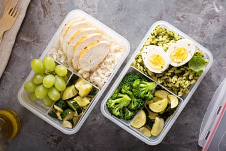 Food in a container