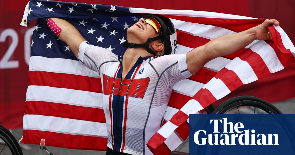 USA's Oksana Masters wins her first-ever road race … in Paralympics final