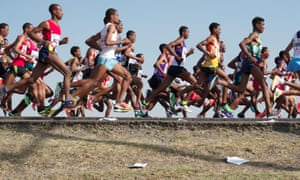 Runners in Ethiopia
