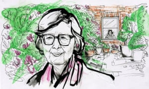 'Writing a novel is like hacking at the rock face' … Penelope Lively.