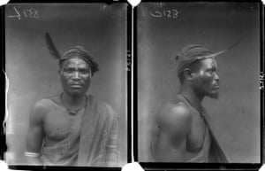 'Priest of Aniedu', photographed by N. W. Thomas in Sabon Gida, Edo State, Nigeria, 1909