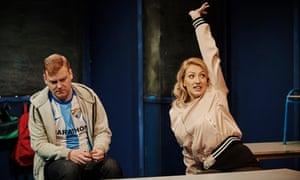 Provocative … Stephen Jones and Sarah Morris in Class at the Traverse, Edinburgh.