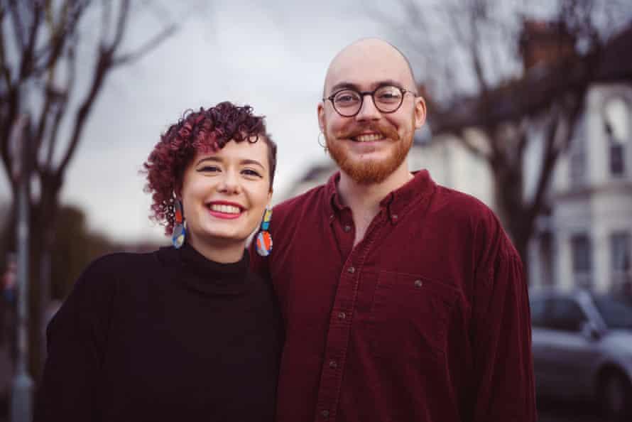 Alun McNeil-Watson and his partner Lottie in Kensal Rise