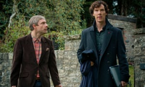 Filming has started on Sherlock season four, starring Martin Freeman and Benedict Cumberbatch