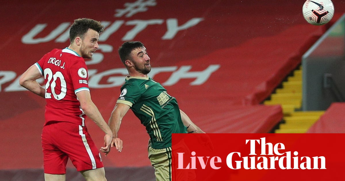 Liverpool v Sheffield United: Premier League – live!