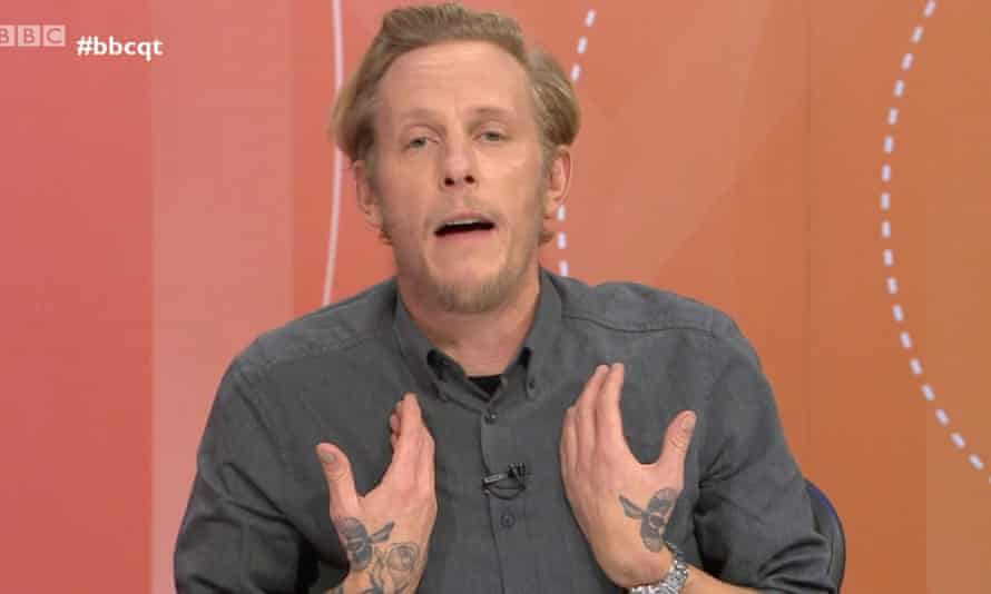 Laurence Fox: the voice of white privilege.