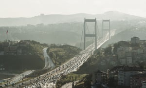 What should be a 30-minute daily journey across Istanbul's Bosphorus bridge ends up costing, during rush hour, an extra 125 hours of travel time over a year.