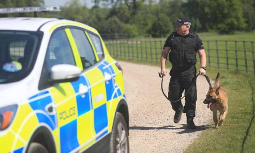 A police patrol in Hull for BBC Radio 1's big weekend.