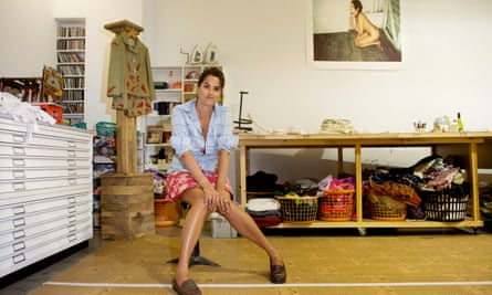 Tracey Emin at her studio in east London in 2009.
