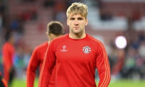 c387a422a09 Manchester United s Luke Shaw returns to training after seven months ...