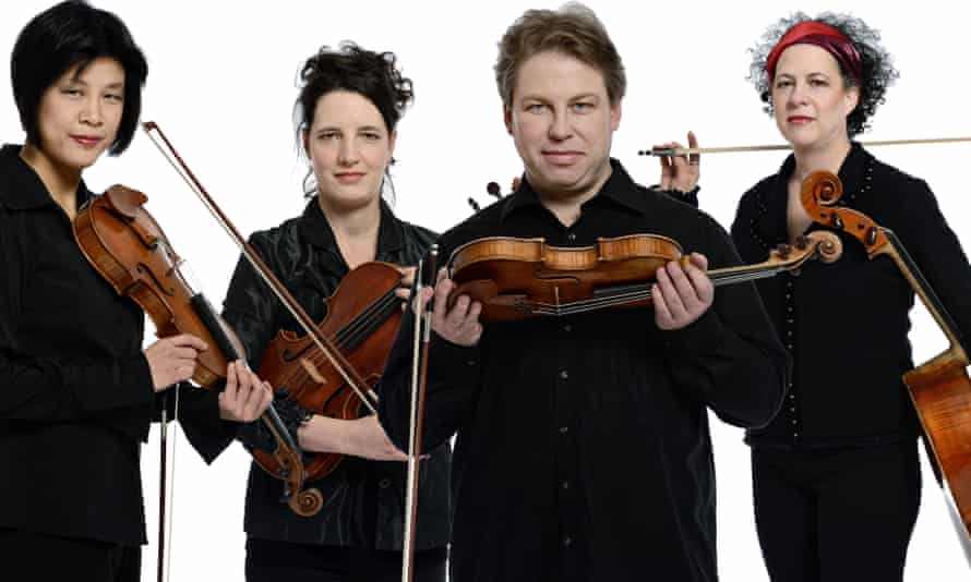 Bozzini Quartet stepped in last minute to perform at Sound festival in Aberdeen.