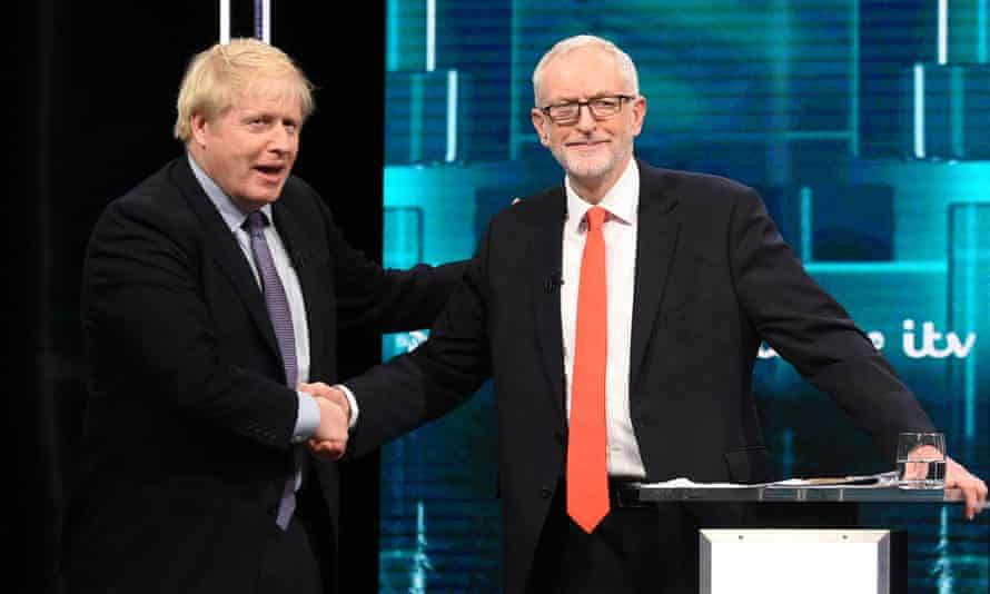 Neither Boris Johnson nor Jeremy Corbyn is leaving us any the wiser about where Brexit will end