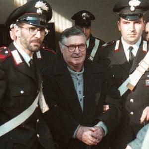 Sicilian boss Salvatore 'Totò' Riina