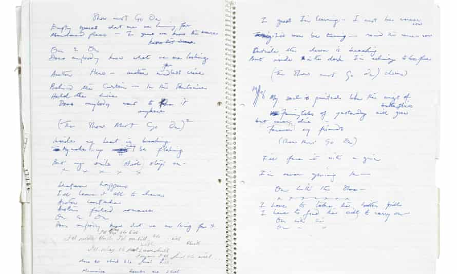 Freddie Mercury  notebook