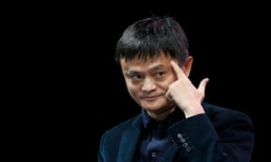 Jack Ma, executive chairman of Alibaba Group, saw his fortune fall by $546m on Monday.