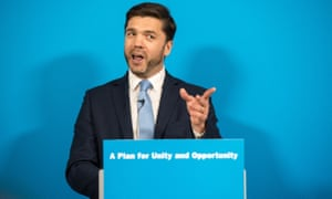 Stephen Crabb announces his running for the Conservative Party leadership on Wednesday.