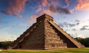 El Castillo in Yucatán.