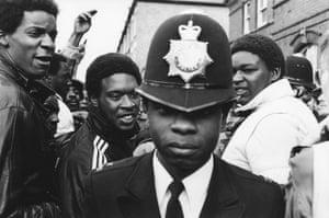 Black copper, London, 1985