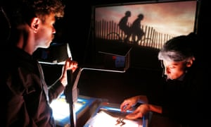 Ada/Ava by Manual Cinema at Underbelly Potterrow in 2016.