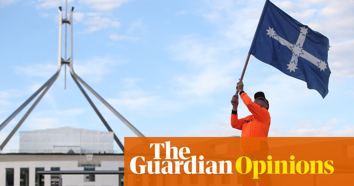 The crackdown on the Eureka flag is another bid to destroy