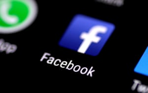 App and at 'em … Facebook on a mobile.