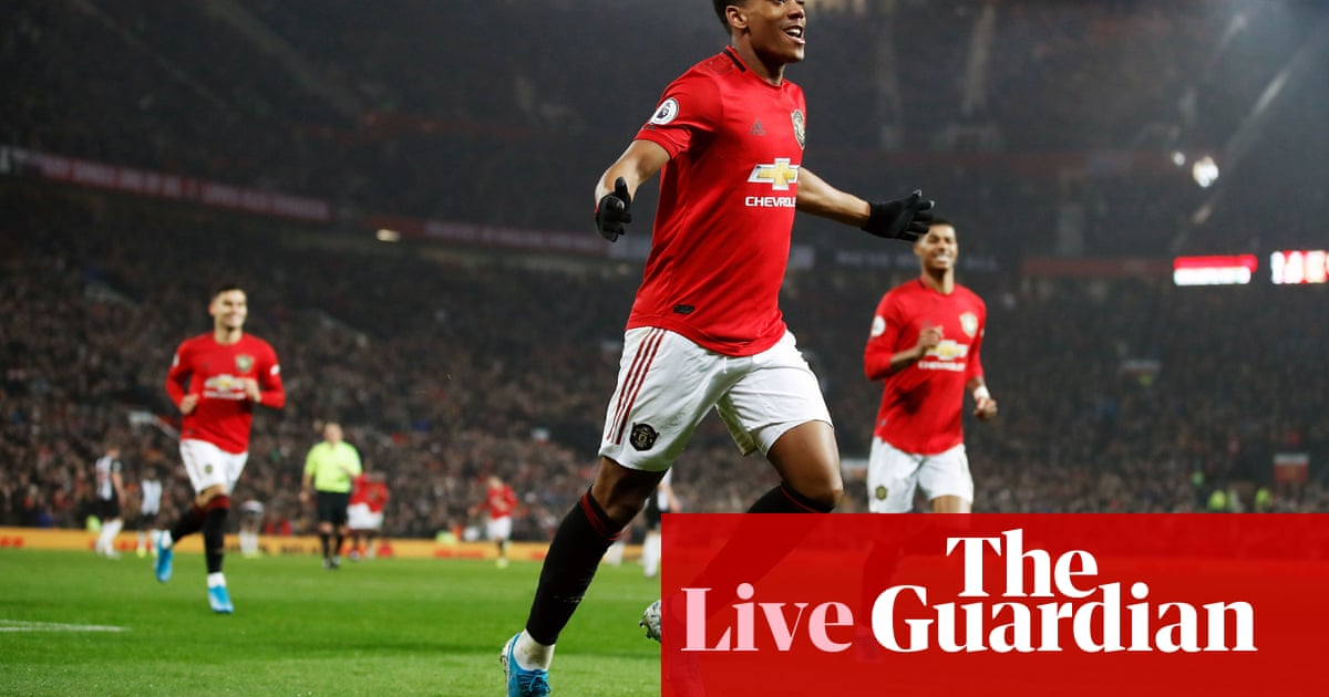 Manchester United 4-1 Newcastle United: Premier League – live!