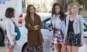 Pretty Little Liars stars Lucy Hale, Troian Bellisario, Shay Mitchell and Ashley Benson.