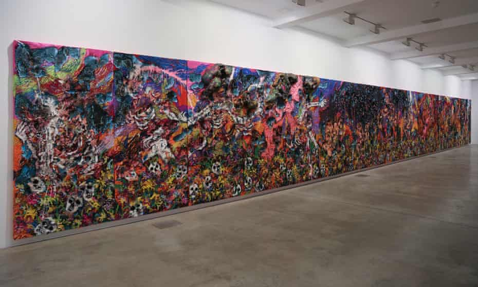 'A colossal labour of energy and emotion': We Were Ugly, 2017 by Hyon Gyon at Parasol Unit.