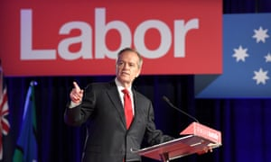 Bill Shorten speaks at the Labor 2019 federal election campaign launch in Brisbane on Sunday.
