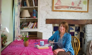 'A marvellously comic exactitude': Alice Oswald at her home near Totnes, South Devon