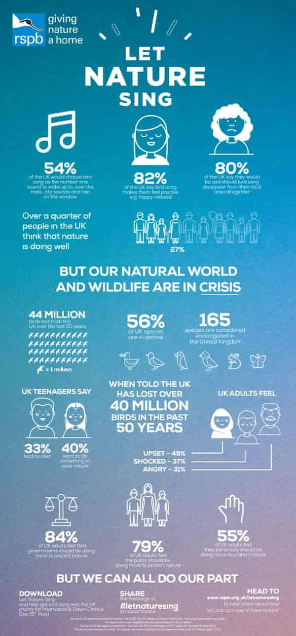Let Nature Sing infographic