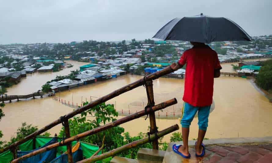 Flooding at Cox's Bazar