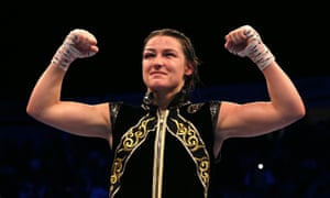 Katie Taylor retained her WBA, IBF, WBC, WBO and Ring magazine titles with ease.