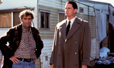 Harry Dean Stanton and Kyle MacLachlan