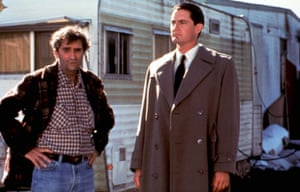 Twin Peaks: Fire Walk With Me, Harry Dean Stanton with Kyle Maclachlan, 1992