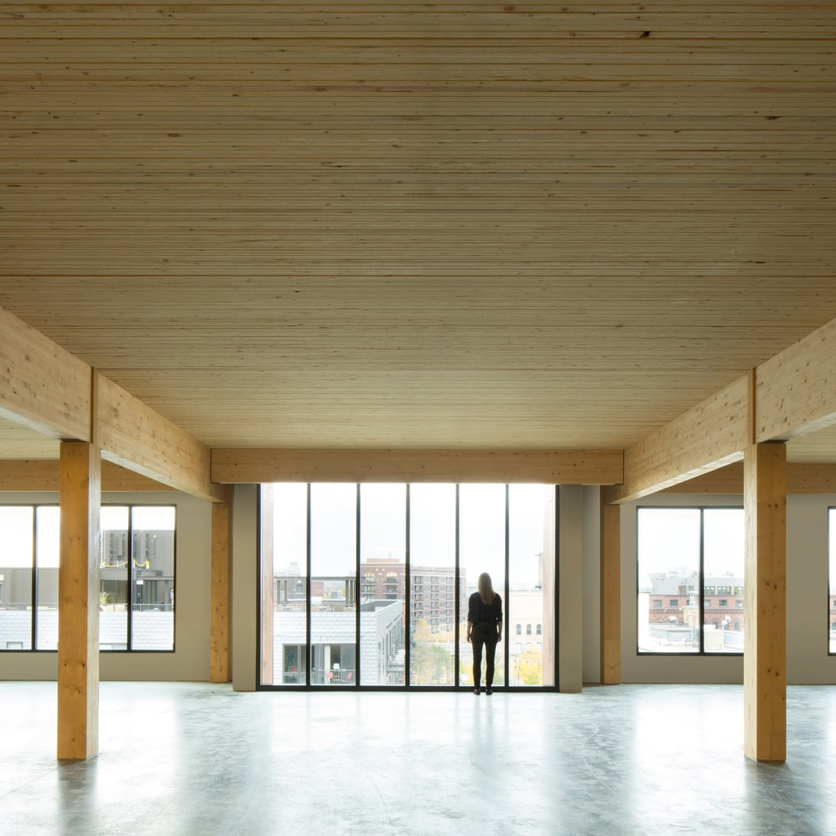 Why Wood Is Back At The Top Of The Tree For Architects Art And Design The Guardian