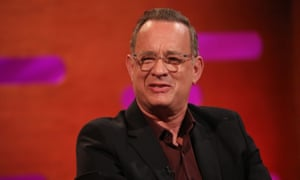 Tom Hanks on The Graham Norton Show in 2019