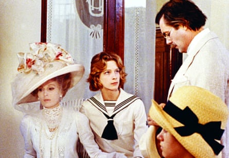 Dirk Bogarde with Silvana Mangano and Björn Andresen in Death in Venice.