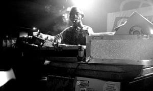 DJ Derek pictured in 2007