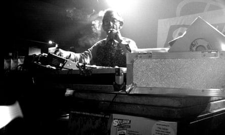 DJ Derek in 2007.
