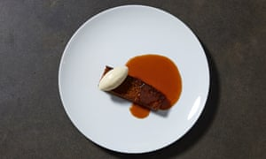 'The dessert list laughs in the face of summer': Yorkshire parkin, butterscotch sauce.