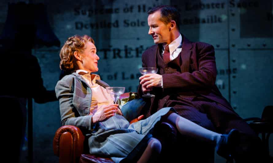Isabel Pollen as Laura and Jim Sturgeon as Alec in Brief Encounter