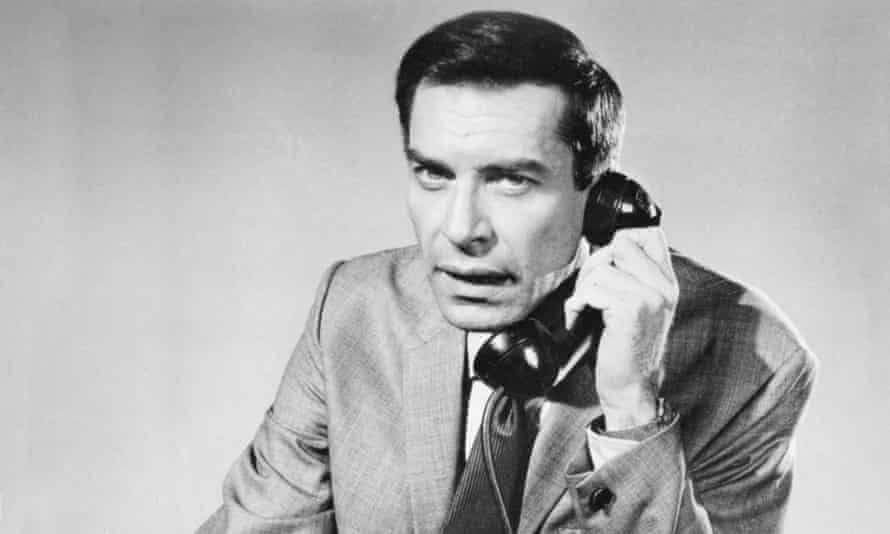 Martin Landau as the agent and master of disguise Rollin Hand in Mission: Impossible in the mid-1960s.